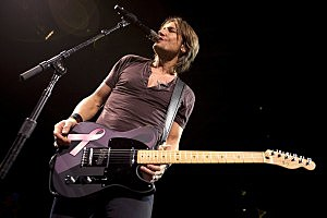 Keith Urban Pink Guitar