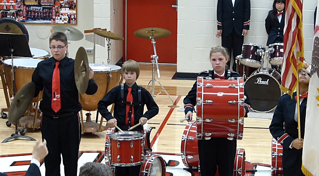 kid cymbal fail star spangled banner