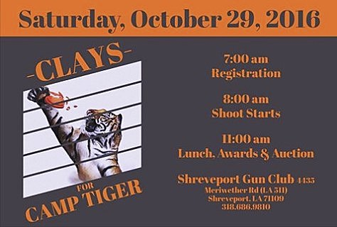 Clays For Camp Tiger