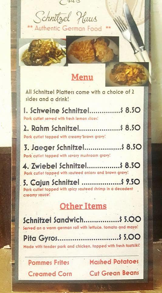 Facebook - Evi's Schnitzel Haus