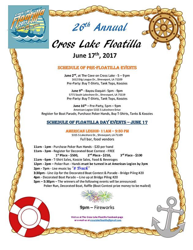 Billy Carr/Cross Lake Floatilla