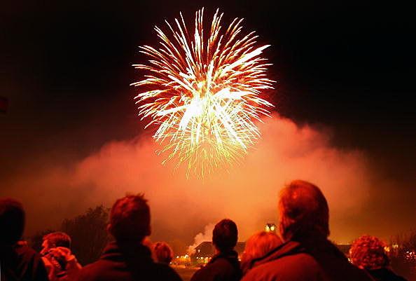 Bonfire Night Celebrations In Lewes
