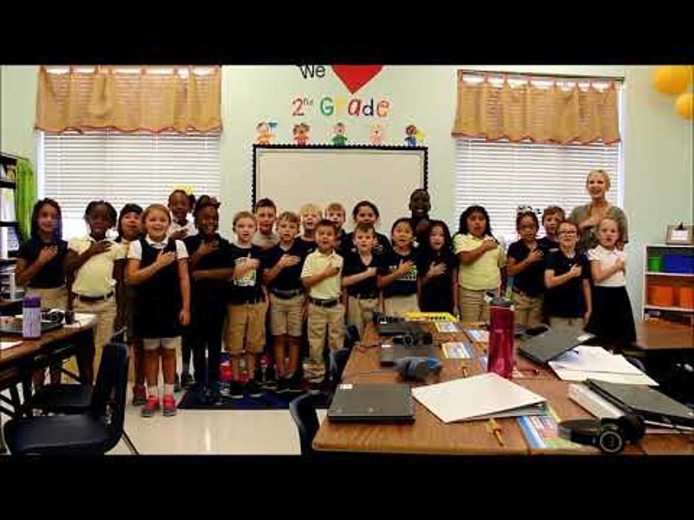 eb9d8f05bd Video of Miss McMullen's 2nd Grade at WT Lewis ES Leading us in the Pledge  of. 34-es ezüstszínű csillogó alkalmi cipő - Miss Q - 2189 Ft ...